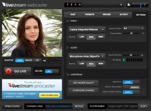 Livestream_Webcaster
