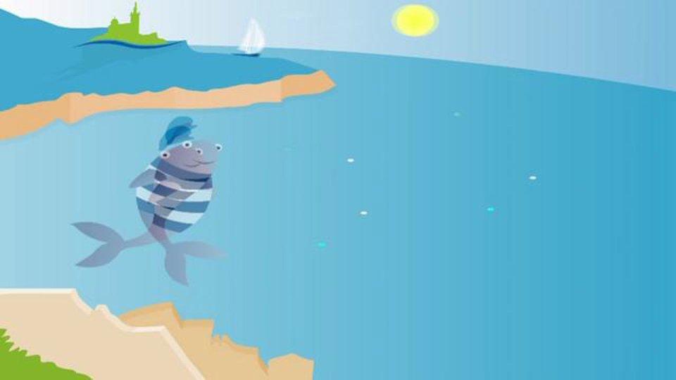 La baudroie – Oh qu'elle est belle, Oh qu'elle est bleue ! – La baudroie