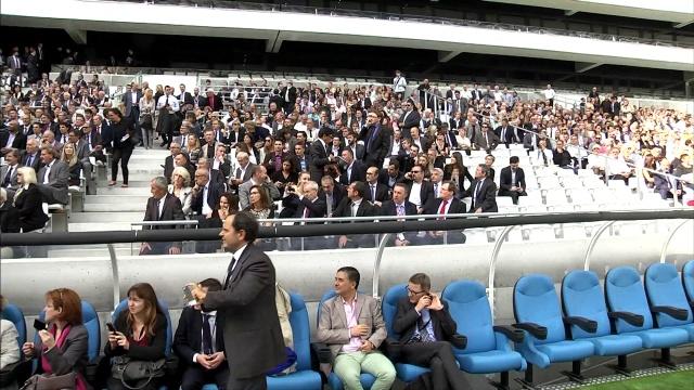 Inauguration Stade velodrome Marseille